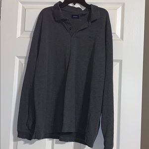 IZod long sleeve polo shirt